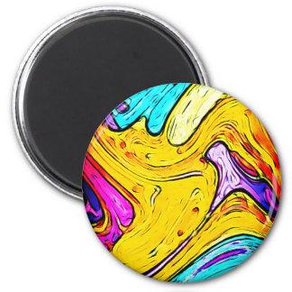 Colores creativos del arte de la calle de la pintu imanes