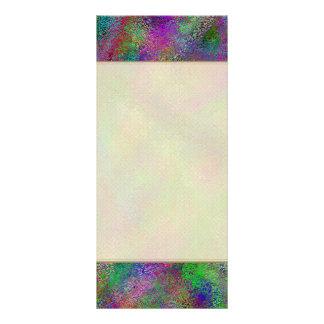 Colores cretáceos tarjetas publicitarias personalizadas