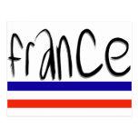 ¡Colores de Francia! Tarjetas Postales