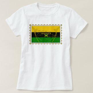 Colores de Jamaica que tararean la camiseta del
