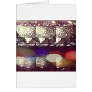 colores de la admiración tarjeta de felicitación