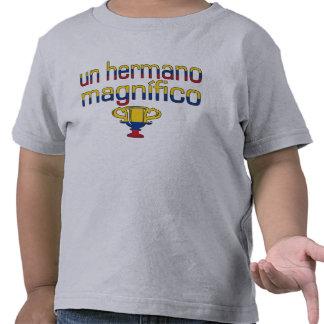 Colores de la bandera de la O.N.U Hermano Camiseta