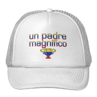 Colores de la bandera de la O.N.U Padre Magnífico  Gorro De Camionero