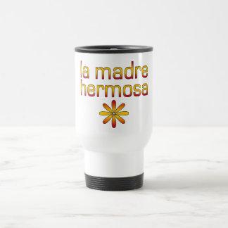 Colores de la bandera de Madre Hermosa España del  Tazas