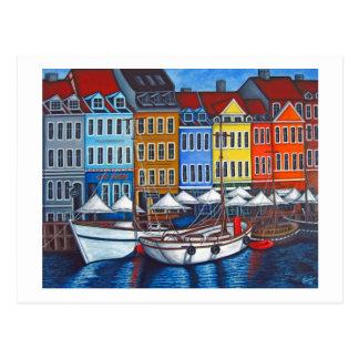 Colores de la postal de Nyhavn