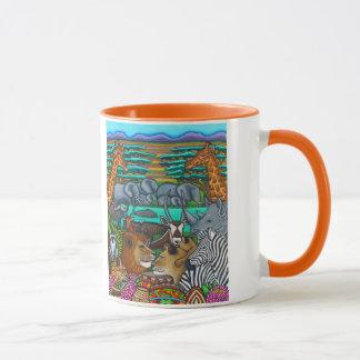 Colores de la taza de África de Lisa Lorenz
