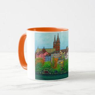 Colores de la taza de café de Basilea de Lisa