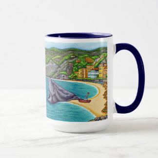 Colores de la taza de café de Monterosso