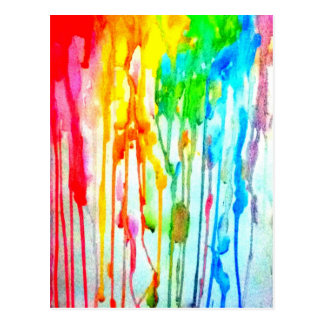 Colores de la vida postal