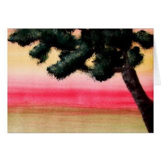 Colores de la vida tarjeta