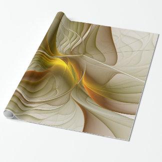 Colores de metales preciosos, arte abstracto del papel de regalo