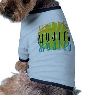 Colores de Mojito Camisetas De Mascota
