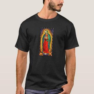 Colores de Santa Muerte del La en brillante Camiseta