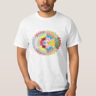Colores del arco iris de EBR:  Balance energético Camiseta