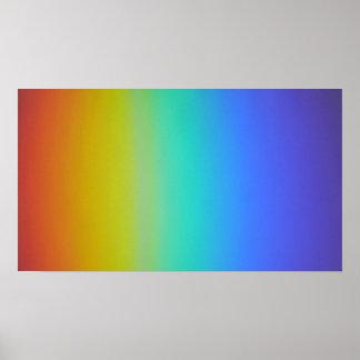 Colores del arco iris impresiones