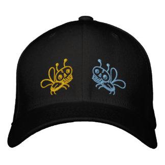 Colores del gorra de la polilla de la muerte de la gorra de beisbol bordada
