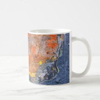 Colores del moho 065, Moho-Arte Taza De Café
