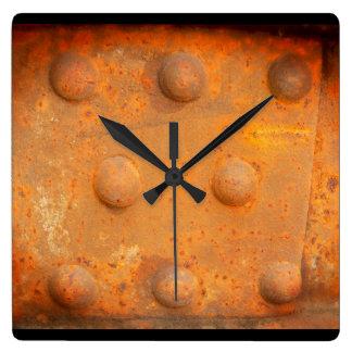 Colores del moho 07,2, Moho-Arte Reloj Cuadrado
