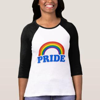 Colores del orgullo camiseta