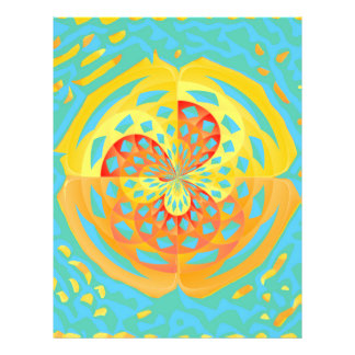 Colores del verano folleto 21,6 x 28 cm