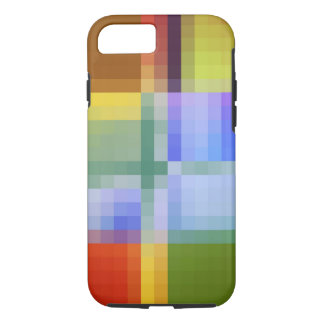 Colores en caso cuadrado del iPhone del estilo Funda iPhone 7