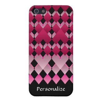 Colores geométricos de la diversión iPhone 5 protectores