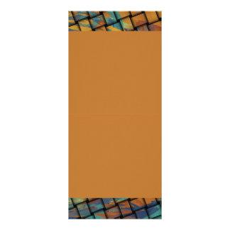Colores intrépidos en la armadura tarjeta publicitaria