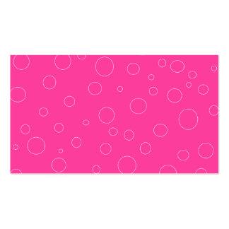 Colores llanos 6 de las tarjetas de visita del