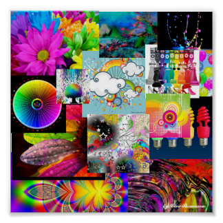 colores poster
