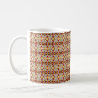 Colores primarios del pavimento taza de café