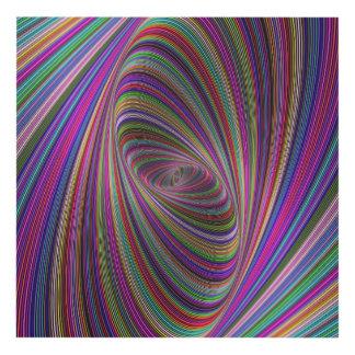Colores psicodélicos cuadro