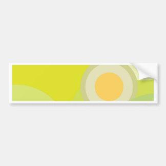 Colores soleados pegatina para coche