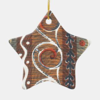 Colores tradicionales del vintage africano de la ornamente de reyes