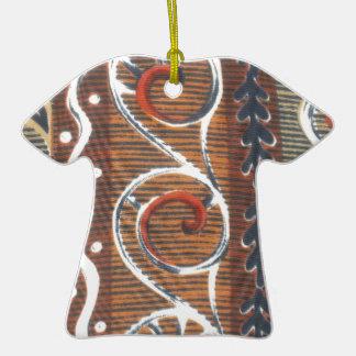 Colores tradicionales del vintage africano de la ornamentos de reyes magos