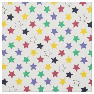 Colorful estrellas fuero diy decoración telas