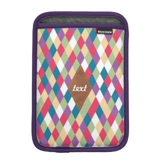 colorful kite pattern funda para iPad mini