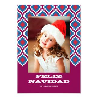 Colorida 3 de Tarjeta de Navidad Invitación 12,7 X 17,8 Cm