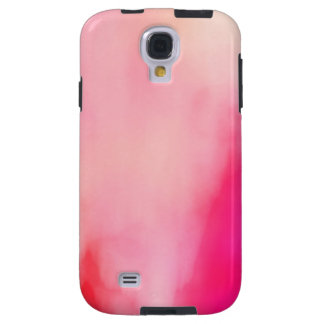 Colorido anaranjado coralino del rosa abstracto de funda galaxy s4