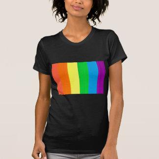 Colorido fluorescente camisetas
