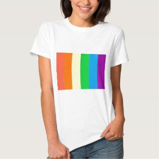 Colorido fluorescente camiseta