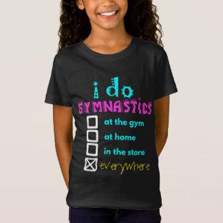 Colorido - hago la gimnasia por todas partes camiseta