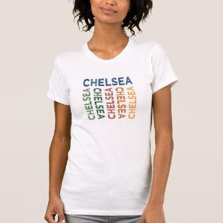Colorido lindo de Chelsea Camiseta