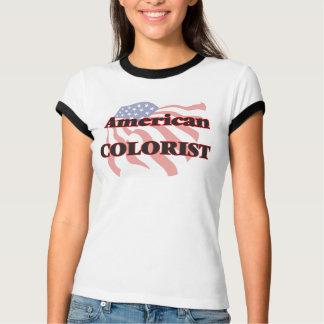 Colorist americano camisetas
