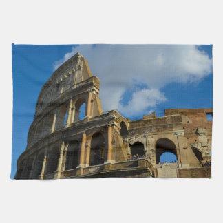 Colosseum en Roma, Italia Paño De Cocina