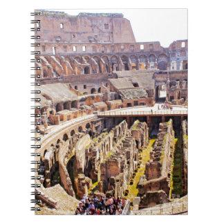 colosseum libros de apuntes con espiral