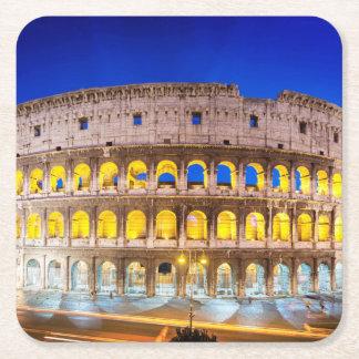 Colosseum Romanum por Orarium Posavasos De Papel Cuadrado