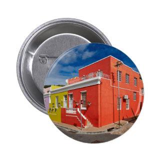 Colourful Buildings en Bo-Kaap Cape Town Pin