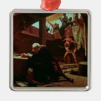 Columbus en cadenas, 1863 ornatos