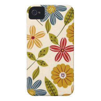 COM Flores del imagem iPhone 4 Funda