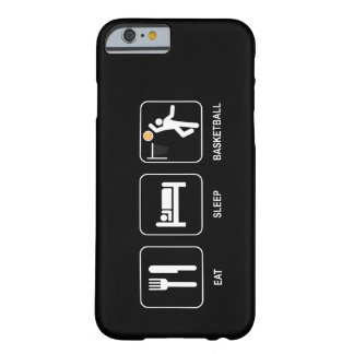Coma el baloncesto del sueño funda de iPhone 6 barely there